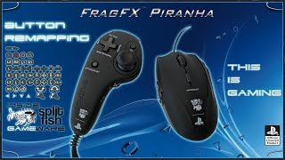 BUTTON REMAPPING [DEUTSCH] - SUPPORT VIDEO FRAGFX PIRANHA PS4 - SPLITFISH GAMEWARE