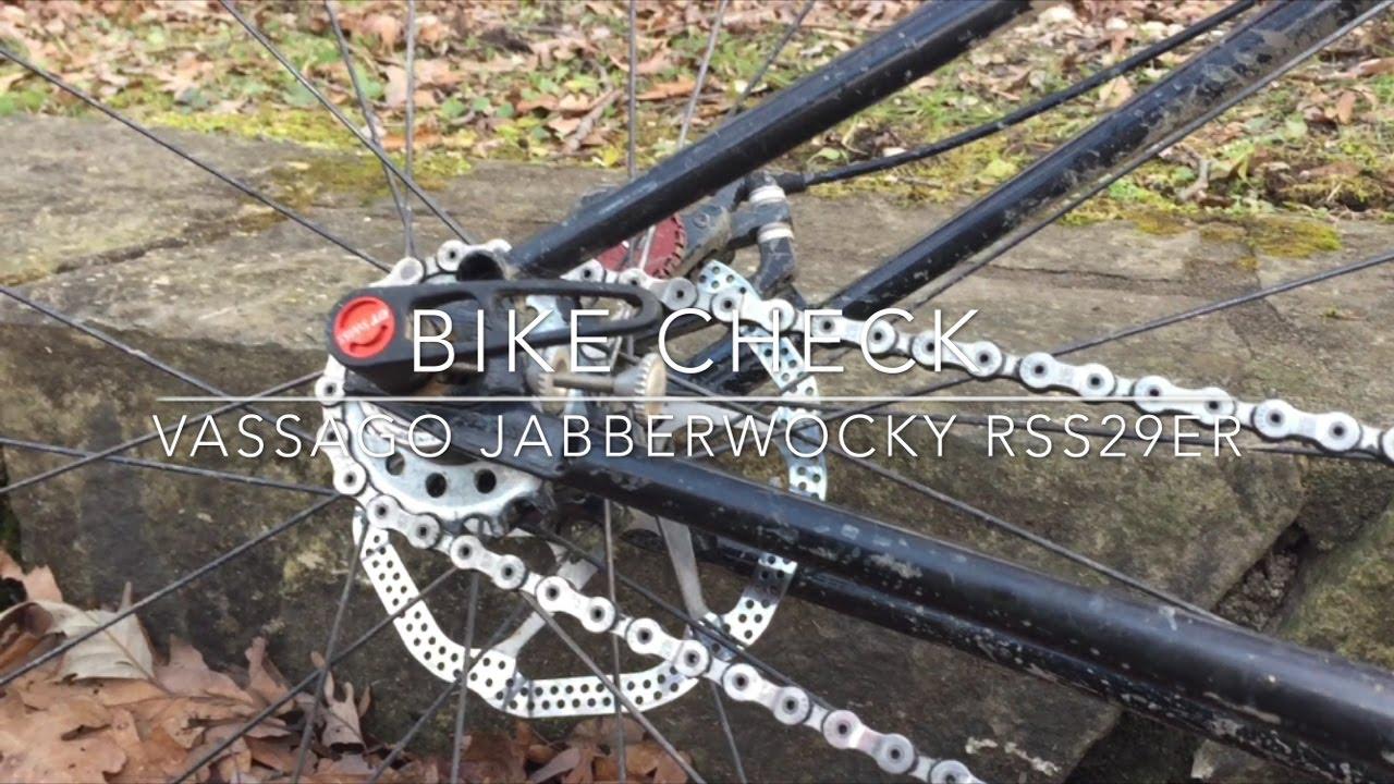 Bike Check - Vassago Jabberwocky RSS29er - YouTube