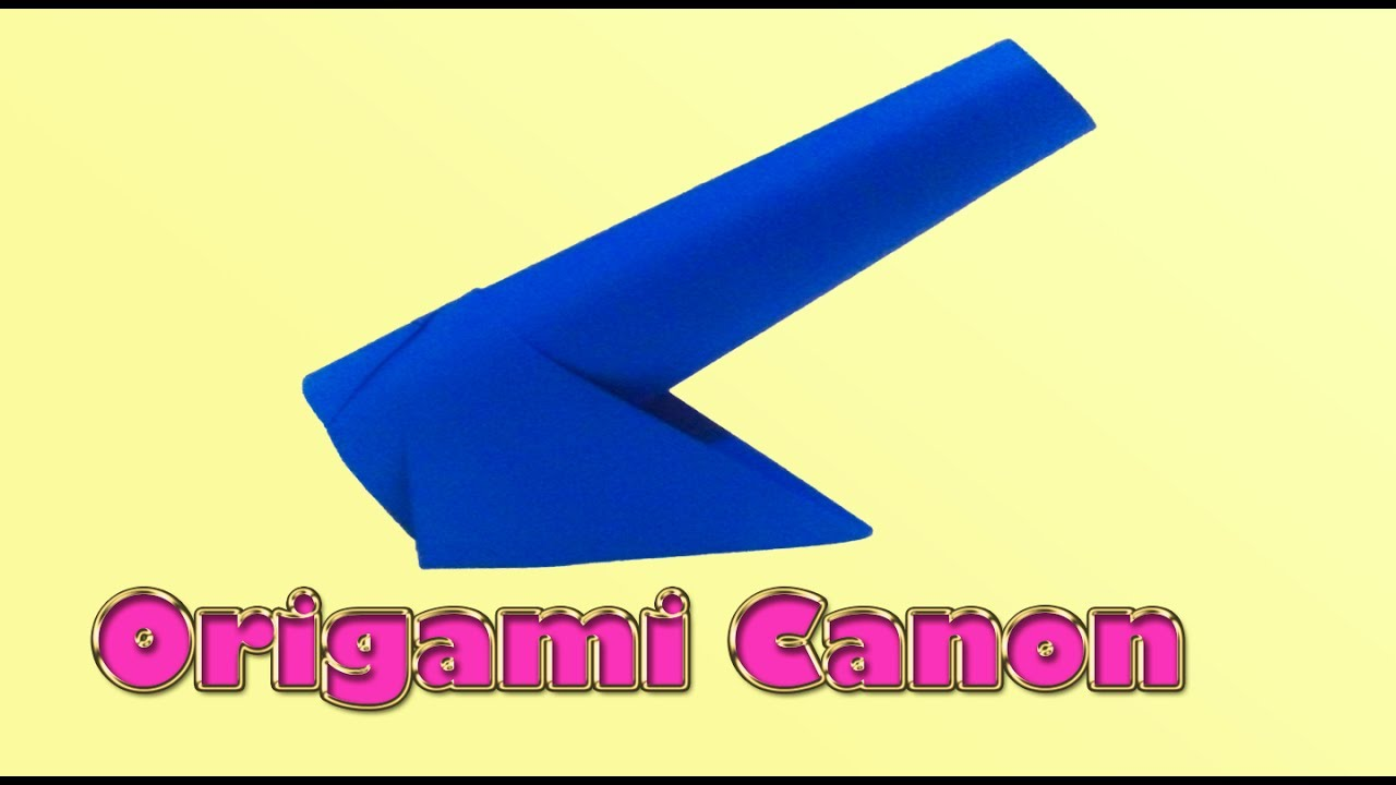 Origami Cannon Instructions Tutorial Lets Make It Sword Diagrams Paper Pete Diagram By Cahoonas Easy How To A Diy