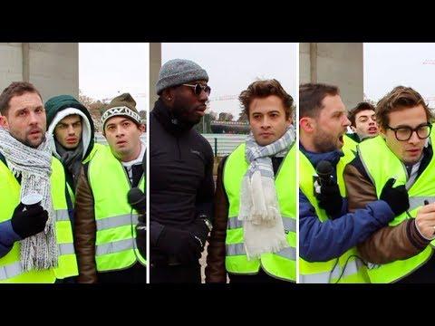 QUAND T'ES CON ... ET GILET JAUNE (feat Morgan VS, Sacha Smiles et Jean-claude Muaka) - NINO ARIAL