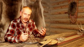 Deer Meat Pie in a Primitive Clay Oven | What
