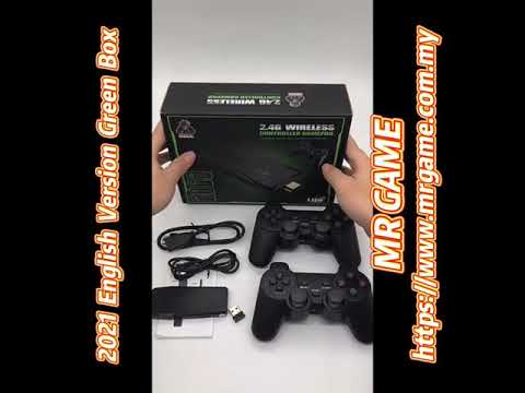 [Malaysia] 2021 10K Games Wireless TV Game Stick Video Games Console