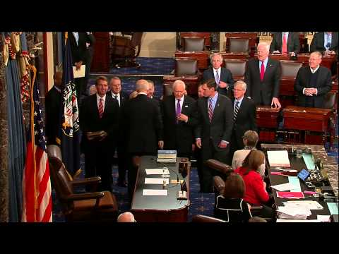Martin Heinrich sworn in as U.S. Senator for New Mexico