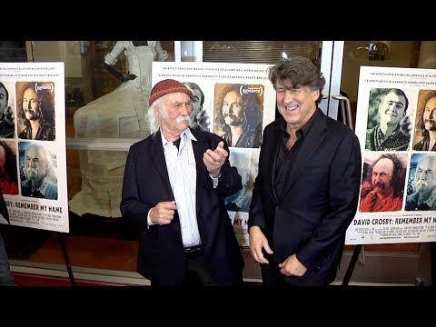 "David Crosby, Cameron Crowe ""David Crosby: Remember My Name"" Los Angeles  Premiere Red Carpet"