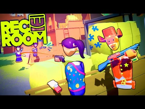 REC ROOM PARTY In Virtual Reality!! HTC Vive Virtual Reality Gameplay