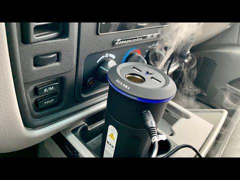 Gulaki In-Car Essential Oil Aroma Therapy Diffuser Demi & Review