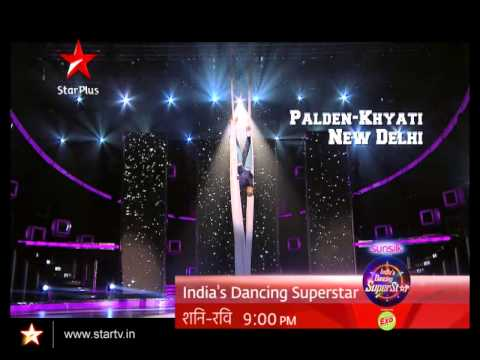 Palden-Khyati perform an aerial act in the most mind blowing manner