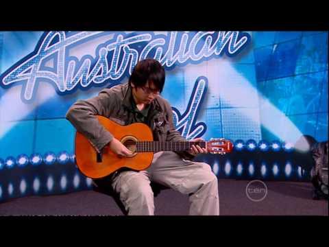 Australian Idol 2009 Vinh Bui Performing Imagine From John Lennon