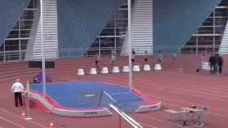 Первенства СПб среди юниоров финал 400 м.