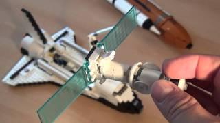 Test Lego 10213 / 10231: Space Shuttle / Shuttle Adventure / Shuttle Expedition