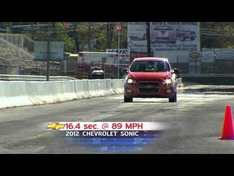 Road Test 2012 Chevrolet Sonic