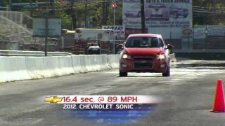 Road Test: 2012 Chevrolet Sonic