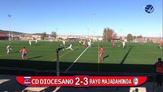 CD Diocesano - Rayo Majadahonda (División de Honor Juvenil Gr.V 17/18)