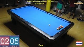 Sunday 9 Ball Handicap Competition 15/07/18