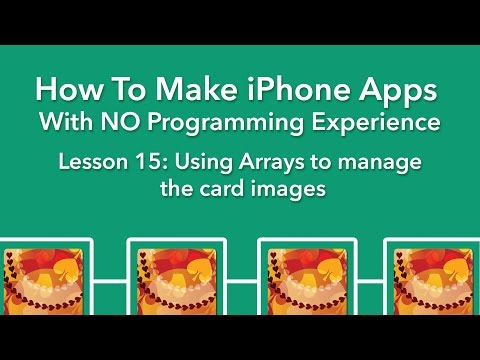 How To Make an App - Ep 15 - Using Arrays in Swift 3