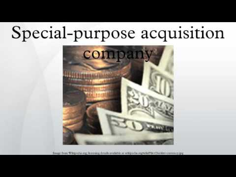 Special-purpose acquisition company