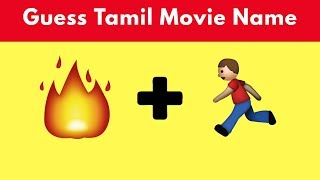 Guess  tamil movie name using emojis