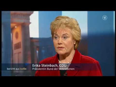 Erika Steinbach im Bericht aus Berlin ARD