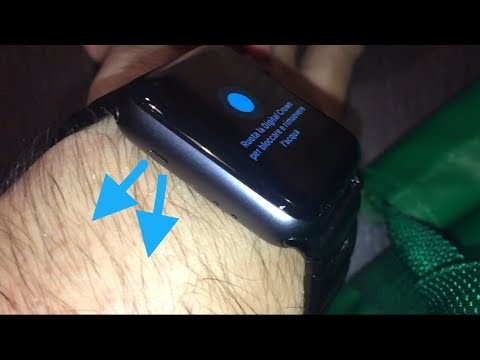 Apple Watch Eject Water System