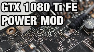 GTX 1080 Ti Founders Edition Power Mod (german)