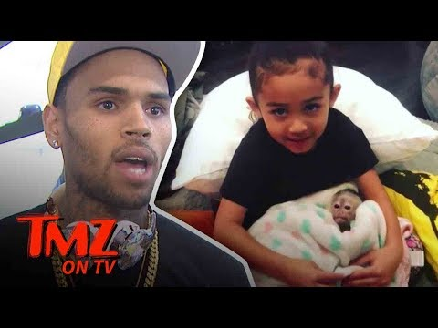 Chris Brown Gets His Daughter An interesting Pet!   TMZ TV