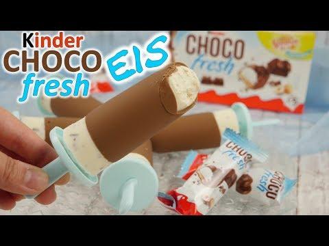 Kinder Chocofresh Eis Rezept / Eis machen ohne Eismaschine