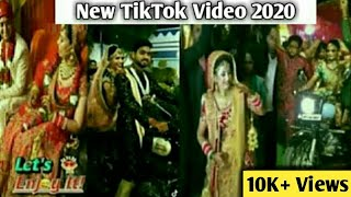 Dulha Dulhan Bullet Entry | Indian Wedding Dance TikTok Video | TikTok Dulhan Video | Let's Enjoy It