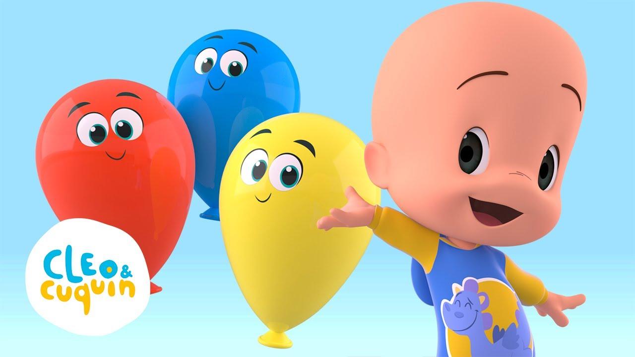 Download Los globos mágicos de Cuquín: aprende colores, animales y canta canciones | Familia Telerin