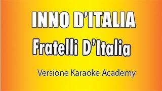 Karaoke Italiano   Inno D'Italia   Fratelli D'Italia - Goffredo Mameli