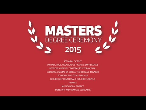 Masters Degree Ceremony | December 9th 2015