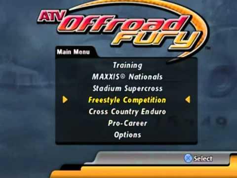 ATV Offroad Fury Main menu music