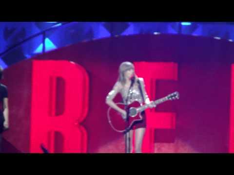 Taylor Swift Ft. Ed Sheeran - Everything Has Changed - Z100 Jingle Ball 2012 HD