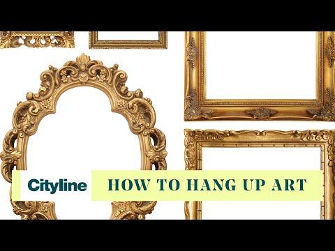 The art of hanging art