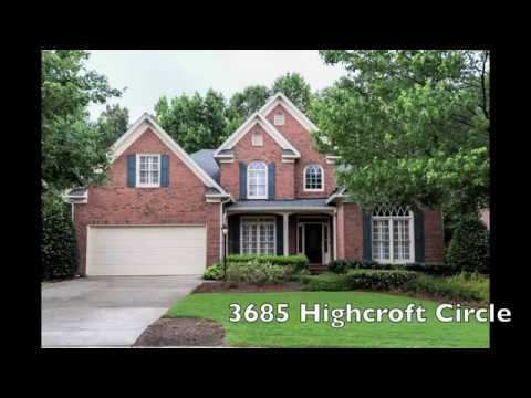 3685 Highcroft Circle Peachtree Corners FMLS#5868041 SOLD!