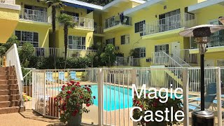 Magic Castle Hotel Hollywood - 1 bed suite walk through/ review July 2017