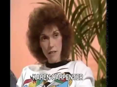 The Carpenters Interview 1981Anorexia