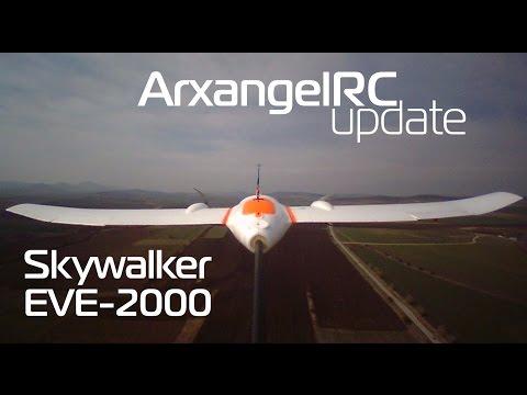 Skywalker EVE-2000 - Ailerons Fail In Flight!!!