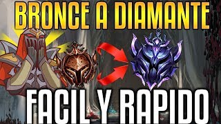 ¡COMO SUBIR DE BRONCE A DIAMANTE EN TU PRIMERA TEMPORADA! | League of Legends