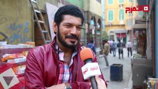 باسم سمرة: أجسد شخصية «سعيد الأحمر» شقيق محمد هنيدي في عنترة ابن شداد