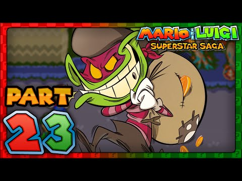 Mario Luigi Superstar Saga Part 23 Third Beanstar Piece