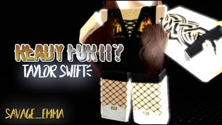 Taylor Swift- Ready for it? | Daydreamin | Short Music Video | RMV | Roblox Music Video