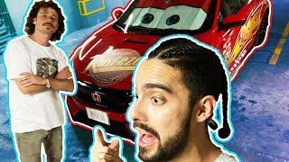 Transformamos el auto deportivo en EL RAYO MCQUEEN! 😱