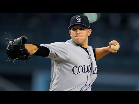Colorado Rockies split two game series with Dodgers