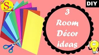 3 room decor ideas with paper | rental appartment decor ideas |easy home decorating ideas with paper