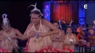 O Tahiti E performance at Heiva 2016 Tahitian dance