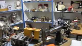 Видео урок по ремонту швейных машинок с Равилем 2 серия