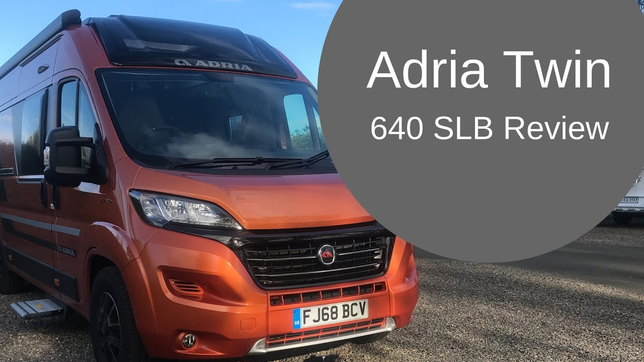 LIVE-IN REVIEW - Adria Twin Supreme 640 SLB Camper Van