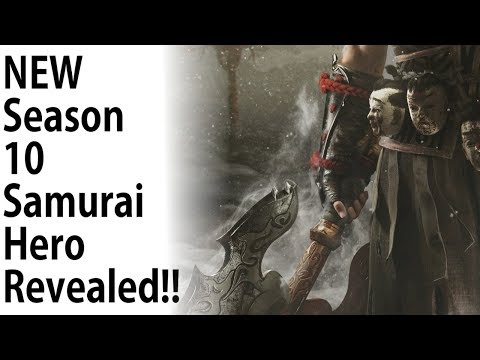 For Honor - NEW SAMURAI HERO TEASED!! May I AXE You A Question