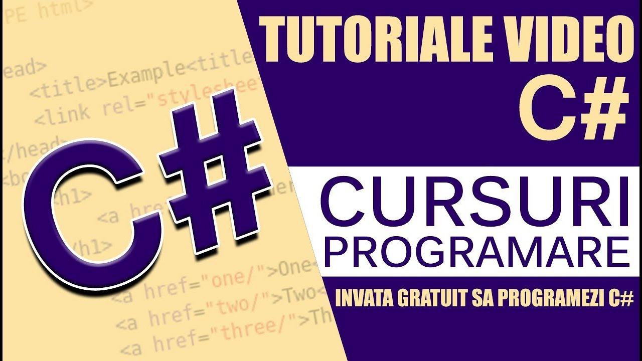 Curs, video tutorial CSharp - Mai multe despre clase si obiecte in POO
