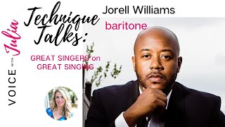 Baritone, Jorell Williams, discusses reworking his breath and how it changed his career path